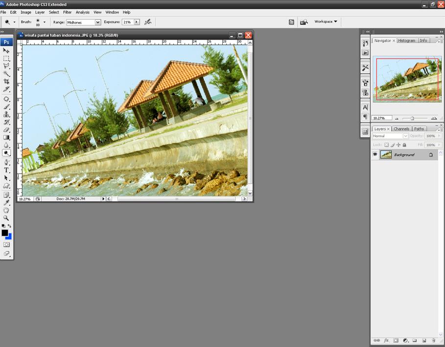 Cara Mengubah Warna Foto dengan Photoshop