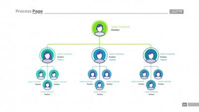 download template vector organisasi