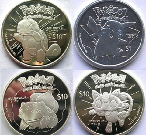 Keren... Mata Uang Negara Ini Bergambar Pokemon