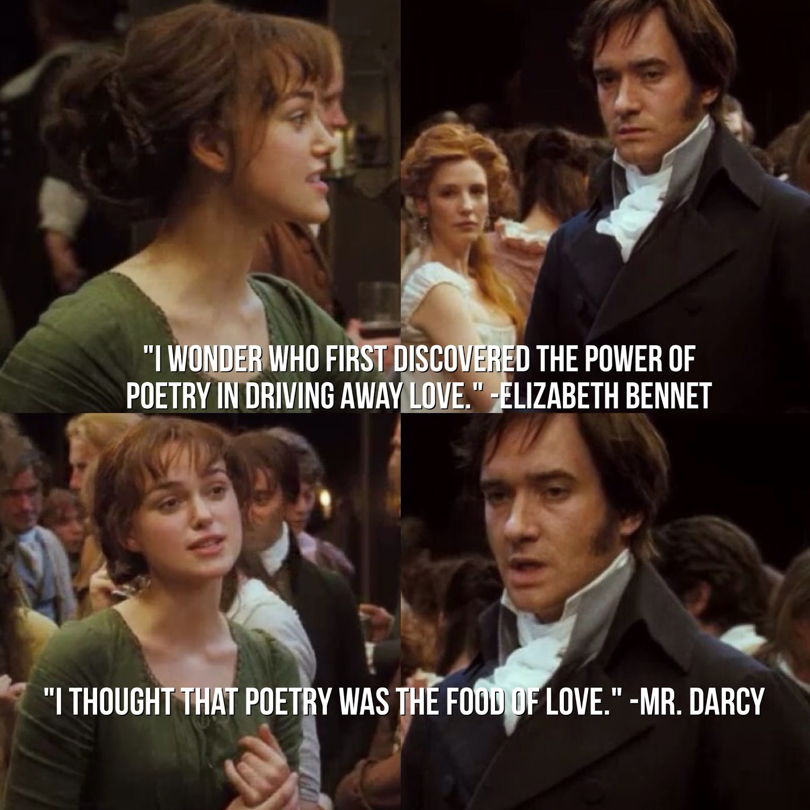 I Wonder Who First Discovered The Power Of Poetry In Driving Away Love?