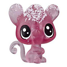 LPS Series 4 Frosted Wonderland Tube Mouse (#No#) Pet