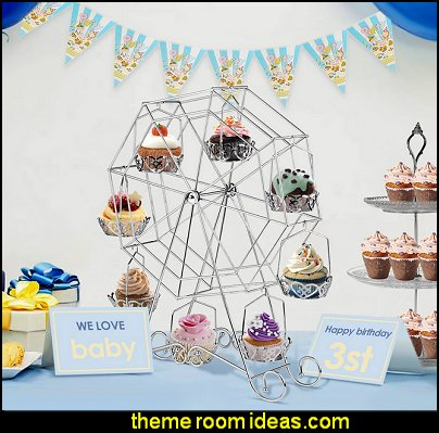 Ferris Wheel Cupcake Stand  circus themed party decorations - carnival circus theme party decorations - circus carnival themed birthday party - Ice Cream theme decor -  circus party supplies - Circus Party Props - circus costumes