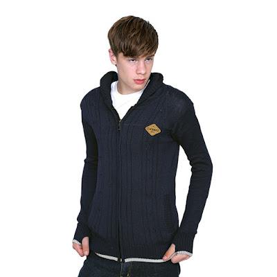 Sweater Hoodie Rajut Pria WD 022