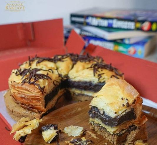 baklave royal chocolate makassar baklave
