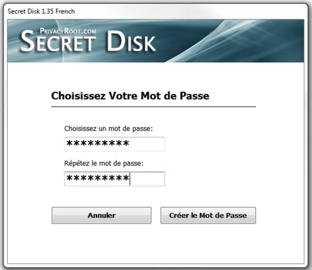 تحميل أفضل برنامج لحماية الاقراص بكلمة مرور وإخفائها Secret Disk Pro 5.00