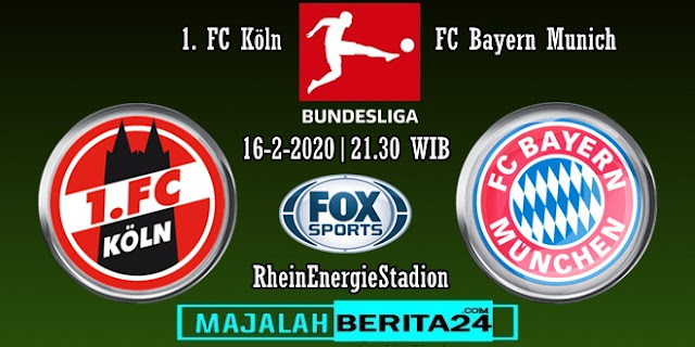 Prediksi FC Koln vs Bayern Munich