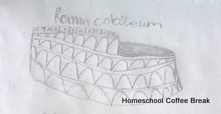 The Colosseum - Blogging Through the Alphabet on Homeschool Coffee Break @ kympossibleblog.blogspot.com  #ABCBlogging