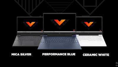 warna-warna laptop gaming victus by HP