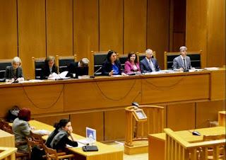 Με τις αγορεύσεις των συνηγόρων υπεράσπισης υπέρ της αθωότητας του Λαϊκού Συνδέσμου συνεχίστηκε η Δίκη της Χρυσής Αυγής