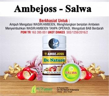 Obat Wasir (Ambeien) Herbal de Nature | Tradisional Terbaik Terpecaya