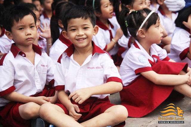 Kết quả hình ảnh cho đồng phục học sinh tiểu học