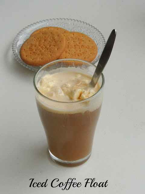 Iced Coffee Float, Icecream Coffee