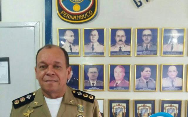 Bandidos assaltam Coronel Lamenha da PM, em Tracunhaém
