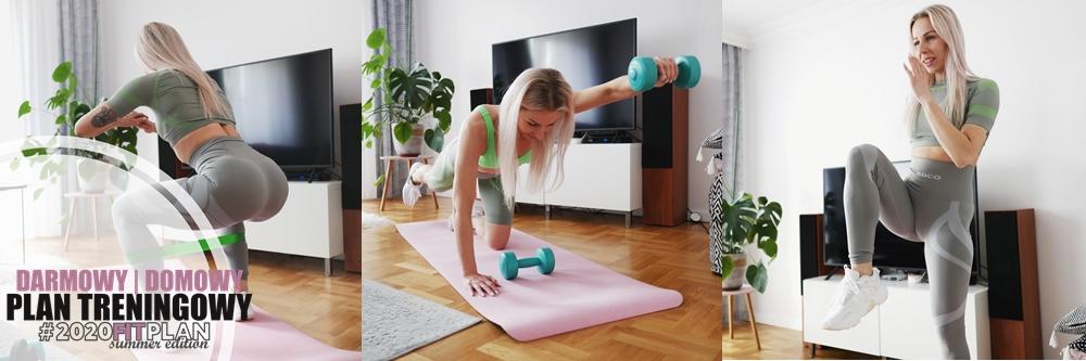 plan treningowy siłowy w domu