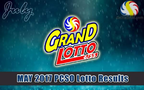 Results: July 2017 GrandLotto 6/55 PCSO Lotto - Balita Boss!