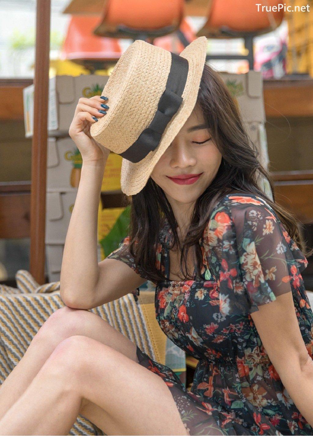 Image-An-Seo-Rin-Flower-and-Butterfly-Bikini-Korean-Model-Fashion-TruePic.net- Picture-8