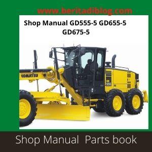 Shop Manual GD555-5 GD655-5 GD675-5