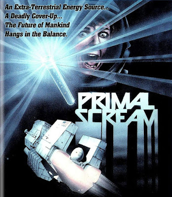 Cover art for Dark Force Entertainment's Blu-ray of PRIMAL SCREAM!
