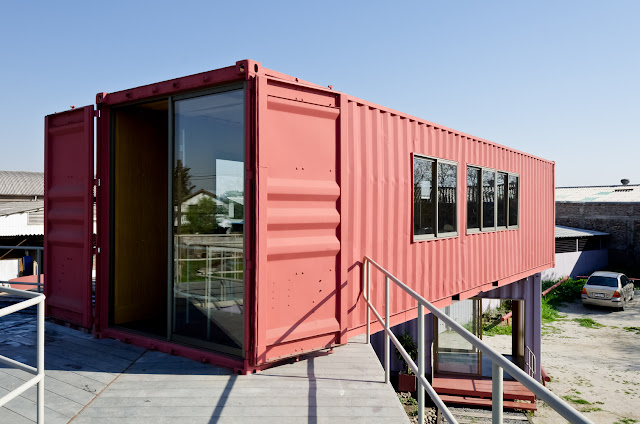 Shipping Container Sale Rooms, Showroom and Offices, Santiago, Chile 5