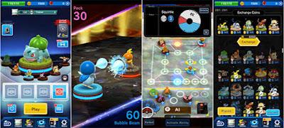 تحميل لعبة pokemon duel على الأندرويد ios
