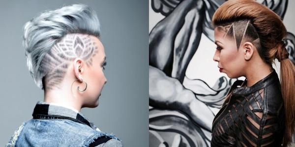 Trendy Hair Tattoos And Designs The Haircut Web