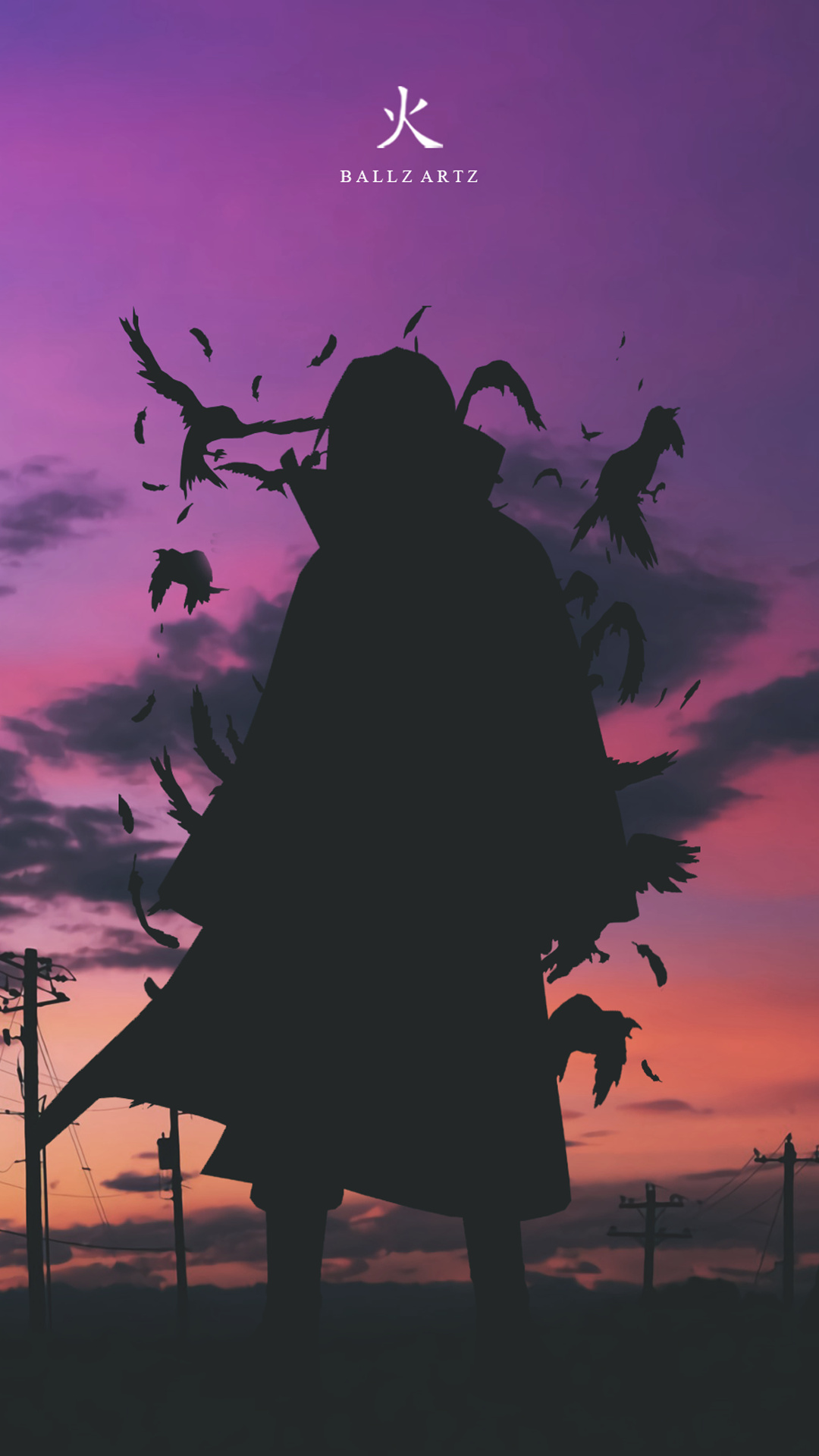 itachi anime mobile wallpaper