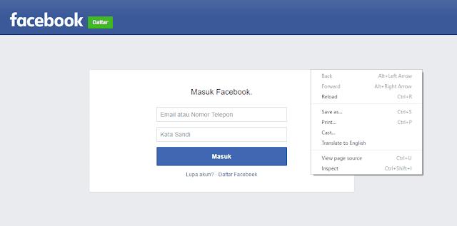 Cara Hack Facebook Dengan Menyimpan Kata Sandi Di Browser