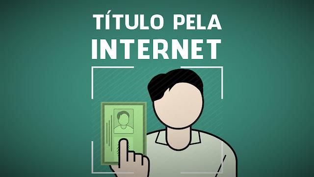 Título Eleitoral pela Internet