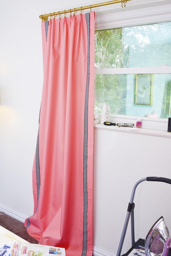 ballard designs inspired diy curtains