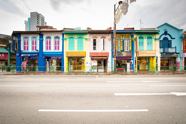 Case coloniali-Little India-Singapore