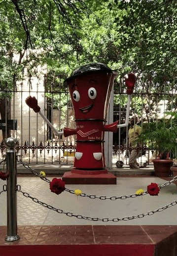 New type post box installed in Bangalore GPO on 18.11.2019