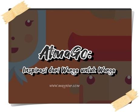 AtmaGo aplikasi warga bantu warga