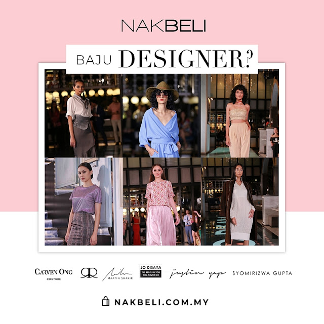 nak beli, nakbeli.com.my, hurr.tv, Renowned Malaysian Fashion Designers Collection,  Rizman Ruzaini, Carven Ong, Jo Disaya, Maatin Shakir, Justin Yap, Syomirizwa Gupta, Malaysian Fashion Designers, online fashion shopping, online shopping, fashion