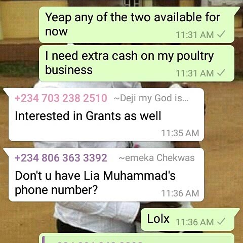 See what this guy was asked to bring when he asked for loan