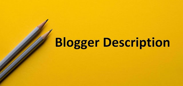 Simple Steps: How to Enable and Write Search Description for Blogger Blog Posts