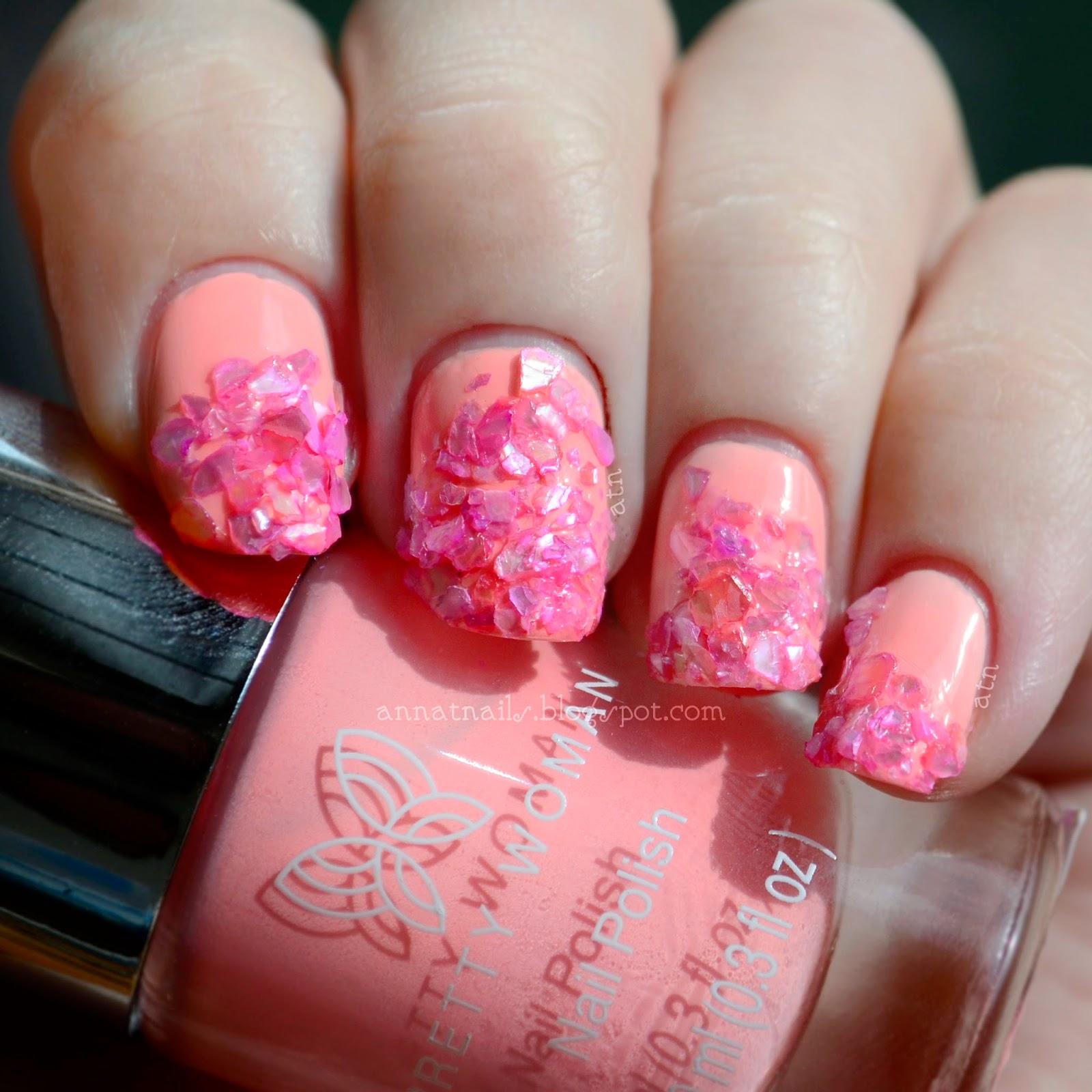 Pretty Woman Sea Shell Nail Art Annatnails