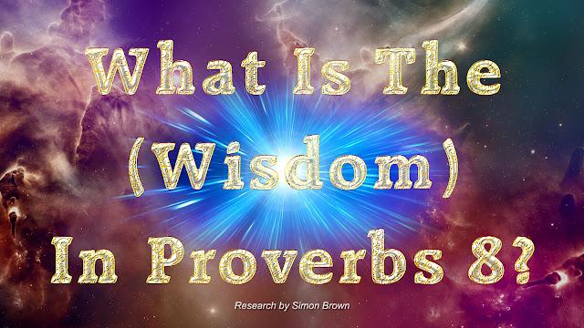 Proverbs 8?