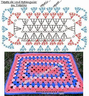 tapete de crochê fácil