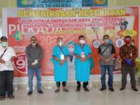 Pilwalkot Sibolga 2020; ABADI (Ambo Bahdin-Edi) Ikuti Tes Kesehatan Di RSPU. H. Adam Malik Medan