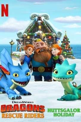 فيلم Dragons: Rescue Riders: Huttsgalor Holiday 2020 مترجم اون لاين