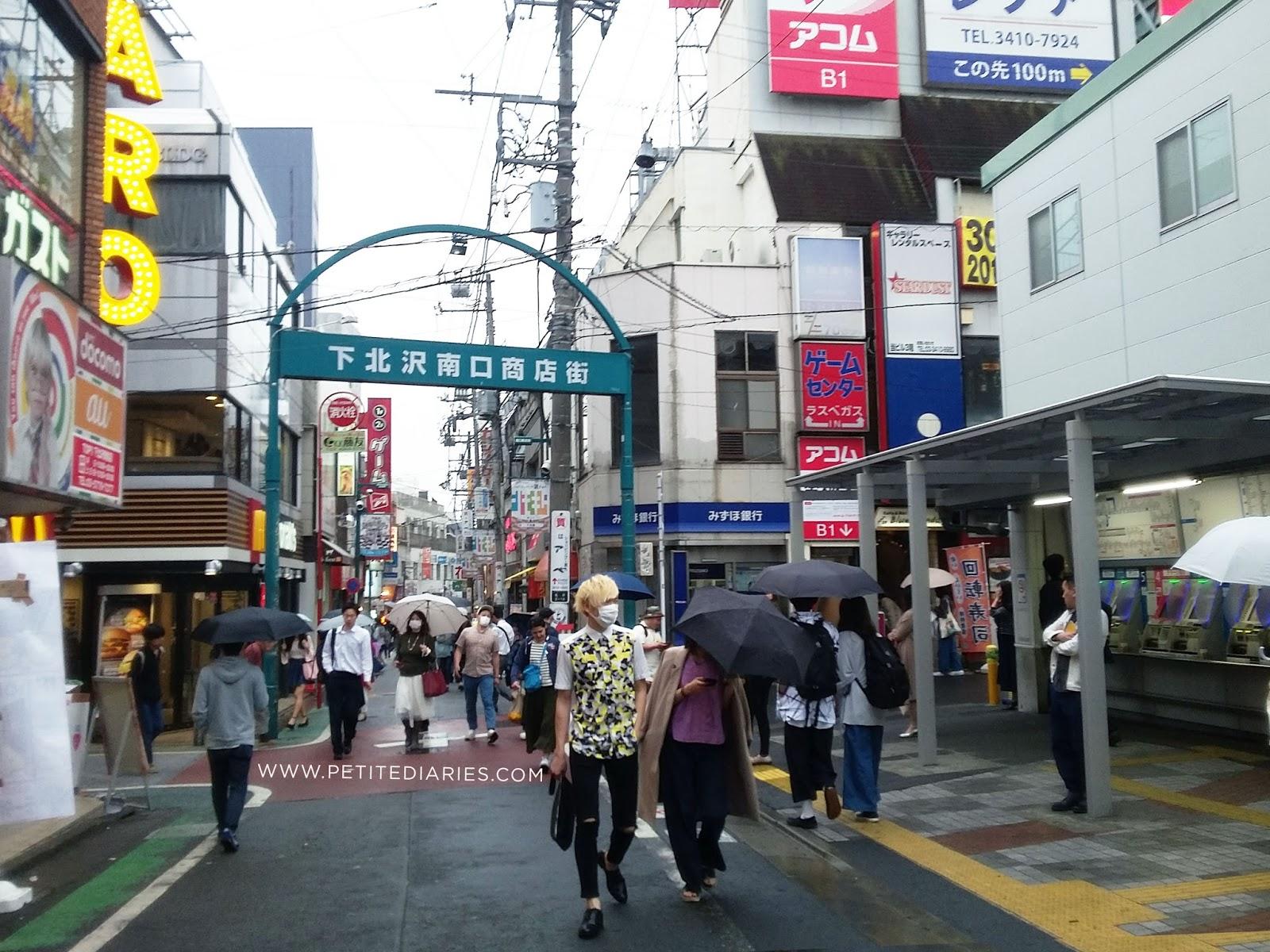 SHIMOKITAZAWA 下北沢 shopping