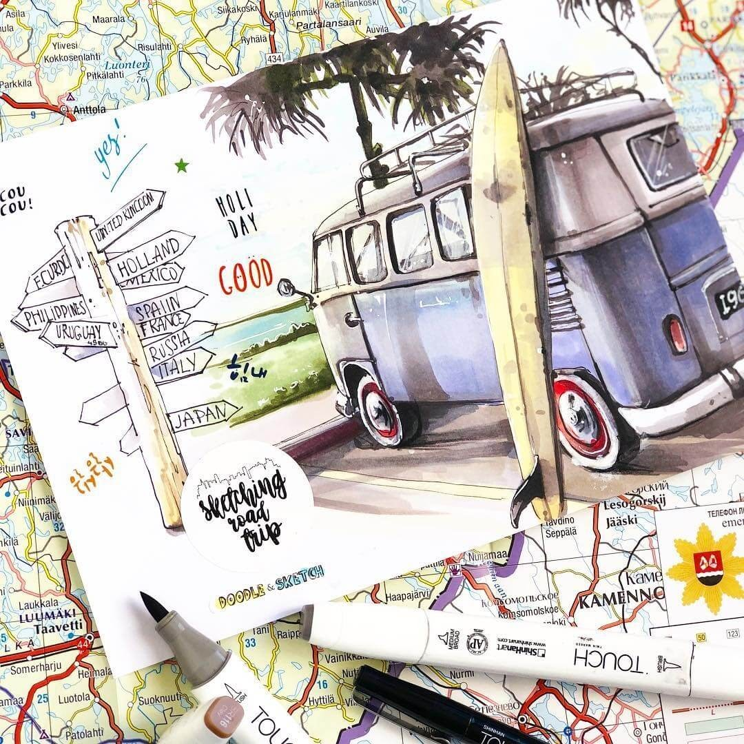 11-Travelling-Irina-Shelmenko-Ирина-Шельменко-Travel-Diary-Sketches-and-Moleskine-Drawings-www-designstack-co