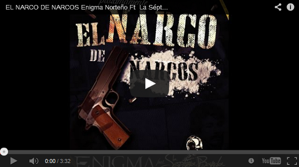 Enigma Norteño Ft La Séptima Banda - El Narco De Narcos (2014) (Video Oficial)