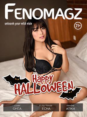 Majalah Fenomagz Edisi Oktober 2017 - Model Majalah Pria Dewasa