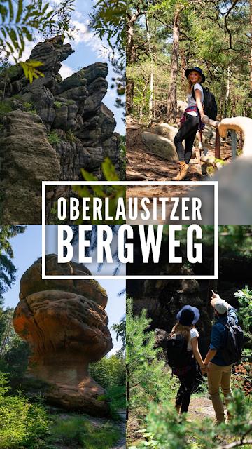 Oberlausitzer Bergweg | Etappe von Waltersdorf nach Oybin | Wandern im Zittauer Gebirge | Sachsen 32
