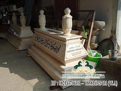 Desain Makam Marmer Islam