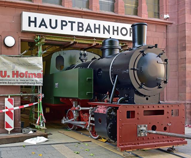 "Dampflokomotive ""FRIEDRICH"" (Foto: S.Kier)"