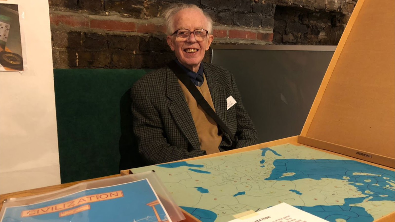 News COllider - Board Game News RIP Francis Tresham