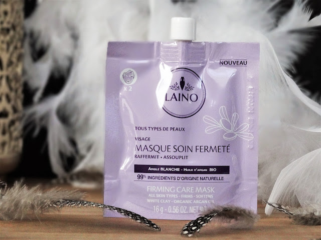 avis Masque Soin Fermeté Argile Blanche Laino, masque a l'argile blanche laino, avis masque argile laino, masque a l'argile tous types de peaux, laboratoires gilbert
