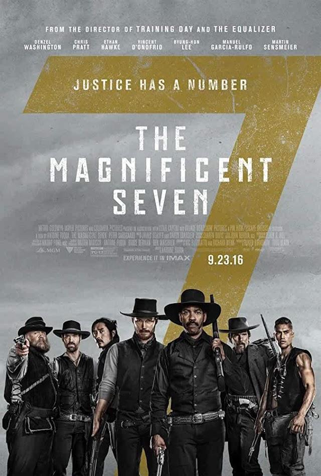 The Magnificent Seven 2016 x264 720p Esub BluRay Dual Audio English Hindi GOPI SAHI